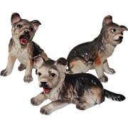 SALE GSD (German Shepherd Dogs) Porcelain Figurines