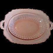 Hocking Glass Mayfair Oval Vegetable Bowl Vegetable 1931 - 1937