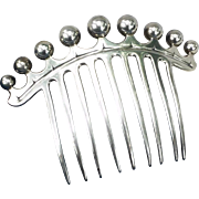 Lovely French second Empire hair ornamental comb.