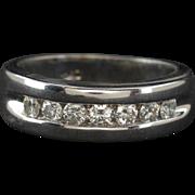 Men's 10k Gold .65ctw G-VS2 Genuine Diamond Wedding Ring Band 6g