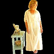 Antique Wedding Dress, Edwardian 1920s Wedding Dress, Beaded Silk & Lace Gown, Downton Abbey .