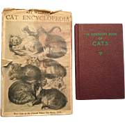 Two Vintage Cat Reference Books