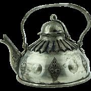 SALE HAND WROUGHT ANATOLIAN TEA POT