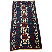 SALE Hand Knotted Anatolian Rug(Kilim) from Van Region of Turkey