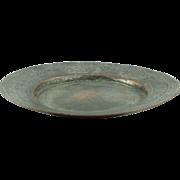 SALE 19th Century Hand Wrought Anatolian Armenian Copper Plate