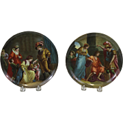 Pair Pair of Porcelain Plates Imperial State Manufactory Vienna (Royal Vienna)