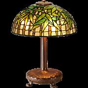 Tiffany Studios New York Bamboo Table Lamp