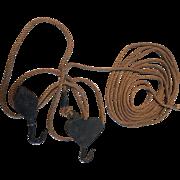 Vintage Tool: Fulton Sure Grip Steel Tackle Block, advertised in 1890