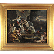 The Family of Our Lady, 18th century, oil on canvas