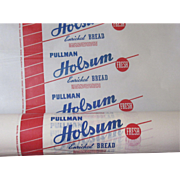 SALE Old Factory Holsum Bread Wrappers On The Roll!