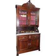 SALE American Renaissance Revival China Cabinet