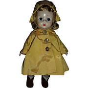 Madame Alexander Doll in Raincoat
