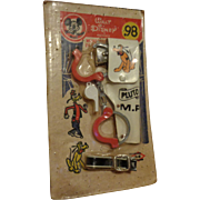 SALE Mickey Mouse Club Pluto M.P. Toy Mint on Card