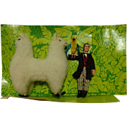 SALE Dr. Doolittle & Push-me-Pull-you Action Figure still Mint on Card