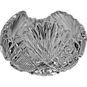 American Brilliant Crystal Rose Bowl ABP