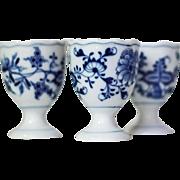 Meissen Blue Onion Single Egg Cup