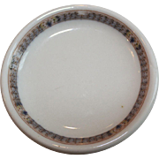 Scammell's Trenton China Butter Plate PRR