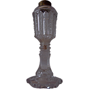 REDUCED Antique Blown Mold Oil Lamp