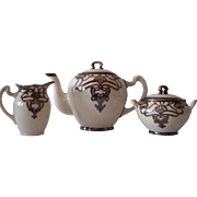 SALE Lenox Belleek 3 Piece Porcelain tea set