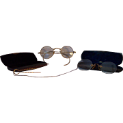 2 Pair of Circa 1900 Eye Spectacles
