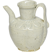 Antique chinese qingbai porcelain small ewer song dynasty 12th century.