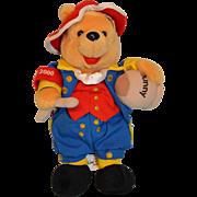 Walt Disney 4th July 2000 Pooh Bear