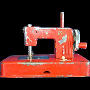 Red Toy Children's Sewing Machine
