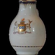 Rare Chinese Armorial Cream Jug Marquis Earl Bute Prime Minister Great Britain Qianlong Export