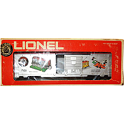 Lionel Train Car:  75th  Anniversary On-Track Accessories Box Car 6-7505, Disney Mickey Mouse
