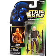 Star Wars: The Power of the Force: DENGAR with BLASTER RIFLE: issued by KENNER 1997