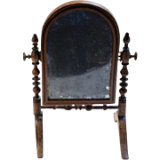 Antique Miniature Standing Mirror for your French Fashion Doll