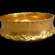 Antique Healey Gold Limoges Center Bowl circa 1893 Rare