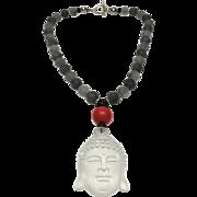 Original Quartz Necklace, Bodhicitta