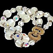 SALE Marvella Faux Moonstone Bracelet