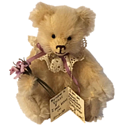 Handmade Collectible Bear from New Zealand