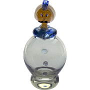 1950s genie in the lamp glass ornament from Murano Italy - Vintage Italian man with turban ...