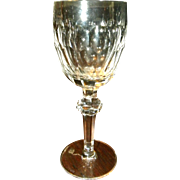 "Waterford Curraghmore 7 1/2"" Water Goblet Glass"