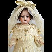 Antique German Bisque Head Doll Heinrich Handwerck HH 79