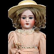 Antique German Bisque Head Doll Simon & Halbig S & H 1078