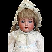 Antique German Bisque Head Doll Simon & Halbig S & H 1299