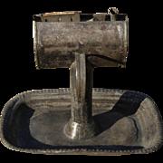 American Antique Tole Lamp