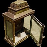 Antique Brass Williamsburg Style Carriage Lantern