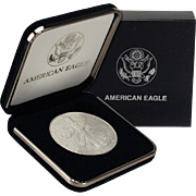 SALE $20,000 Coin? 2000 $1 Silver Eagle! Key Date! Mint Condition (w/Box)