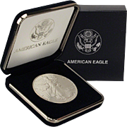 SALE $22,000 Coin? 1992 $1 Silver Eagle! Key Date! Mint Condition (w/Box)