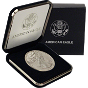 SALE $22,000 Coin? 1989 $1 Silver Eagle! Key Date! Mint Condition (w/Box)