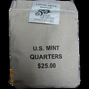 $1,050,000.00 Potential? Unopened Mint Bag - 1999 P Connecticut Quarters!