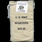 $700,000.00 Potential? Unopened Mint Bag - 2000 P Massachusetts Quarters!