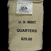 $800,000.00 Potential? Unopened Mint Bag - 2000P South Carolina Qtrs!