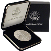 SALE $15,000 Coin? 1997 $1 Silver Eagle! Key Date! Mint Condition in Mint Box!