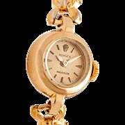 SALE Vintage $4000 18k Yellow Gold Rolex Ladies Watch & Box with Warranty!